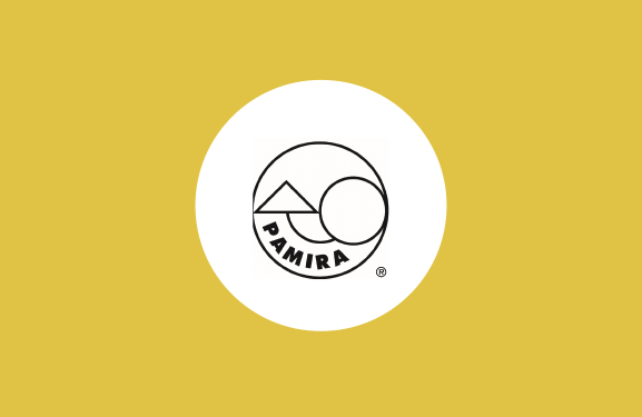 PAMIRA SEED DRESSINGS System Logo against yellow background