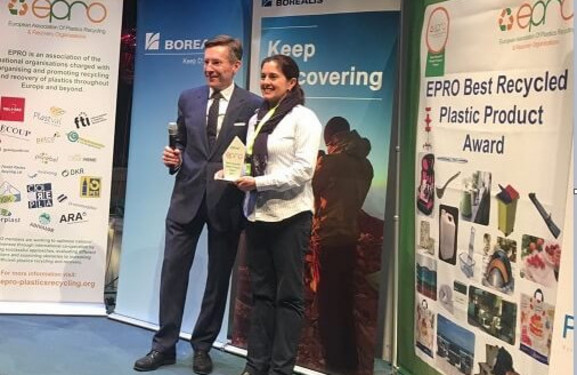 Best Recycled Plastics Product Award