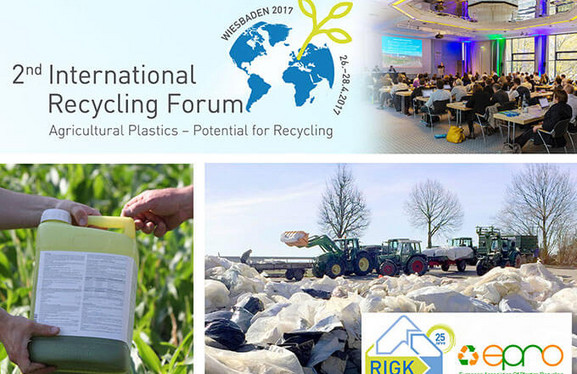 Kollage 2nd Recycling Forum DE